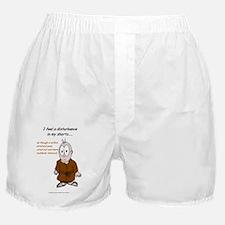 Disturbance in My Boxer Shorts