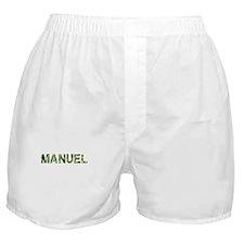 Manuel, Vintage Camo, Boxer Shorts