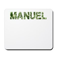 Manuel, Vintage Camo, Mousepad