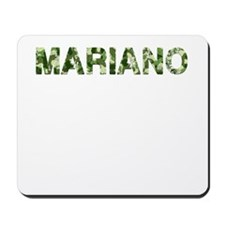Mariano, Vintage Camo, Mousepad