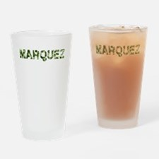 Marquez, Vintage Camo, Drinking Glass
