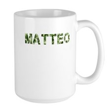 Matteo, Vintage Camo, Mug