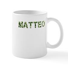 Matteo, Vintage Camo, Small Mug