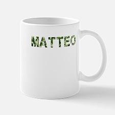 Matteo, Vintage Camo, Small Small Mug