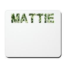 Mattie, Vintage Camo, Mousepad