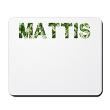 Mattis, Vintage Camo, Mousepad
