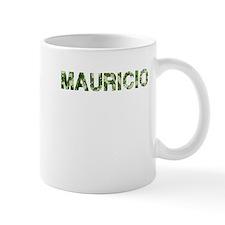 Mauricio, Vintage Camo, Small Mug