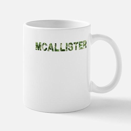 Mcallister, Vintage Camo, Mug