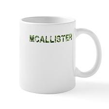 Mcallister, Vintage Camo, Small Mug