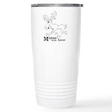 Unique Moose Travel Mug