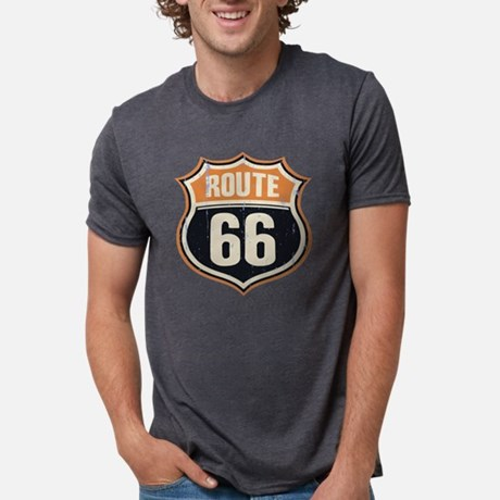 Route 66 Mens Tri-blend T-Shirt