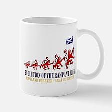 Rampant Lion Evolution Mug
