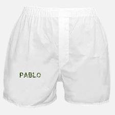 Pablo, Vintage Camo, Boxer Shorts