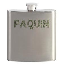 Paquin, Vintage Camo, Flask