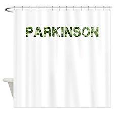 Parkinson, Vintage Camo, Shower Curtain