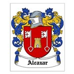 Alcazar Coat of Arms Small Poster