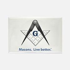Freemason Rectangle Magnet (100 pack)