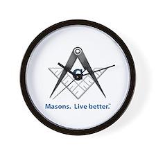 Freemason Wall Clock