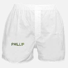Phillip, Vintage Camo, Boxer Shorts