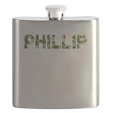Phillip, Vintage Camo, Flask