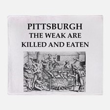 PITTSBURGH Throw Blanket
