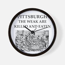 PITTSBURGH Wall Clock