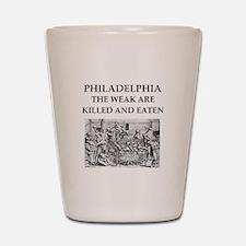 philadelphia Shot Glass