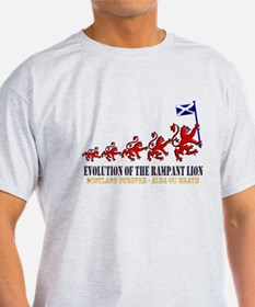 Rampant Lion Evolution T-Shirt