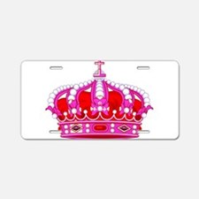 Royal Crown 3 Aluminum License Plate
