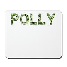 Polly, Vintage Camo, Mousepad