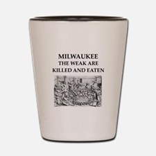 milwaukee Shot Glass