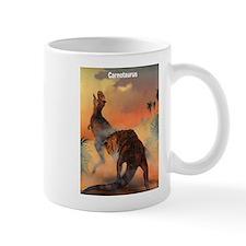 Carnotaurus Dinosaur Mug