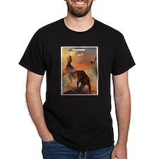 Carnotaurus Dinosaur (Front) T-Shirt