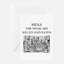 mesa Greeting Card