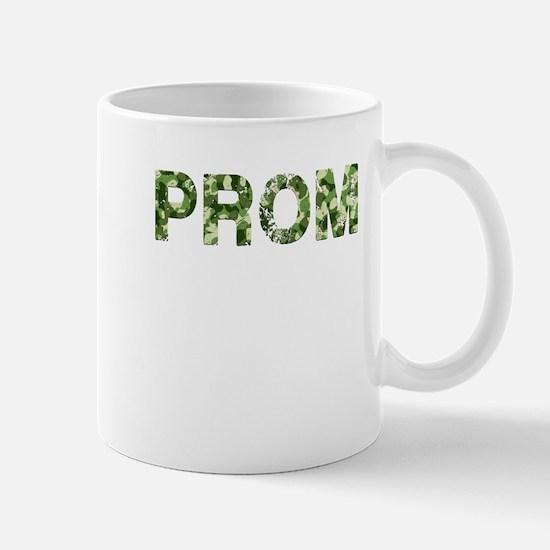Prom, Vintage Camo, Mug