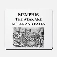 memohis,tennessee Mousepad