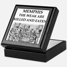 memohis,tennessee Keepsake Box