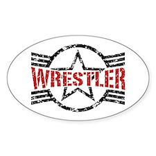 Wrestler Decal