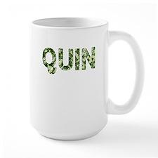 Quin, Vintage Camo, Mug