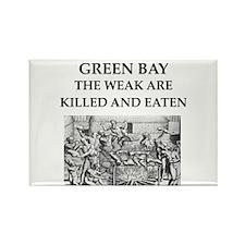 green,bay Rectangle Magnet