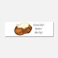 Butter Me Up Car Magnet 10 x 3