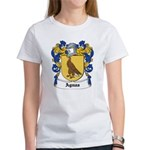 Aguas Coat of Arms Women's T-Shirt