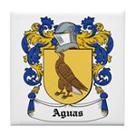 Aguas Coat of Arms Tile Coaster