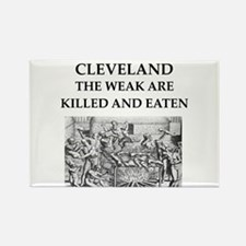 cleveland Rectangle Magnet