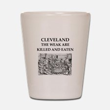cleveland Shot Glass