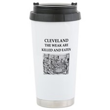 cleveland Travel Coffee Mug