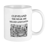 Cleveland ohio Small Mugs (11 oz)