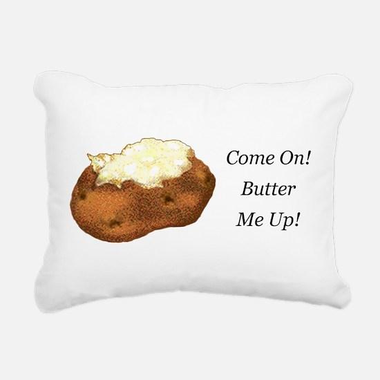 Butter Me Up Rectangular Canvas Pillow