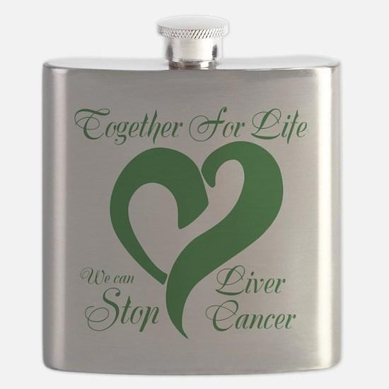 Stop Liver Cancer Flask