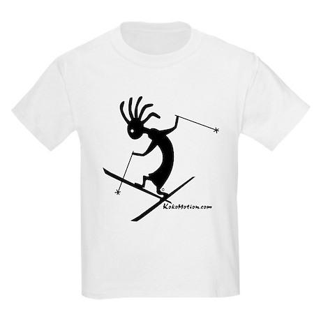 Kokopelli Extreme Skier Kids T-Shirt